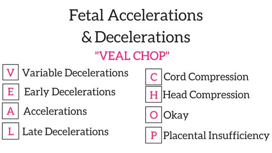 Fetal Accelerations & Decelerations
