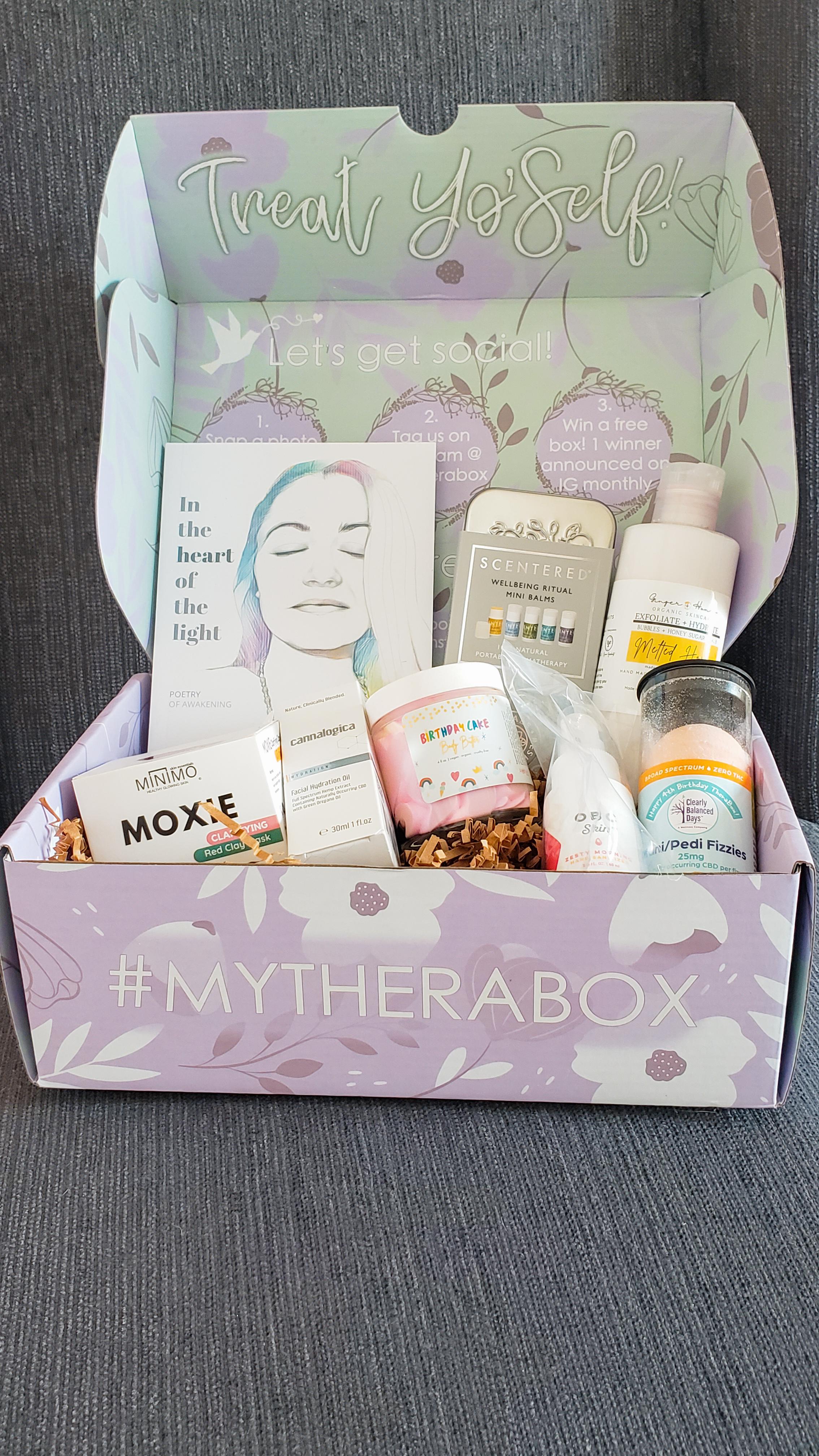 Therabox self care box subscription box plan