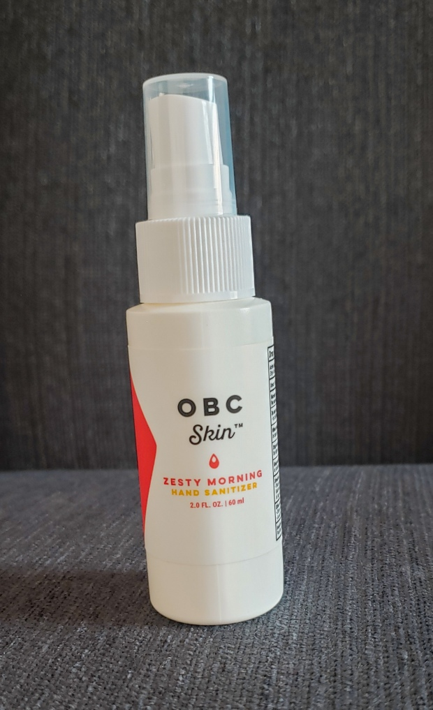 OrganicBathCo. Zesty Morning Hand Sanitizer